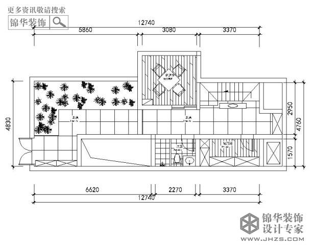 平米户型解析 装修设计方案 -世茂君望墅G2户型230平米