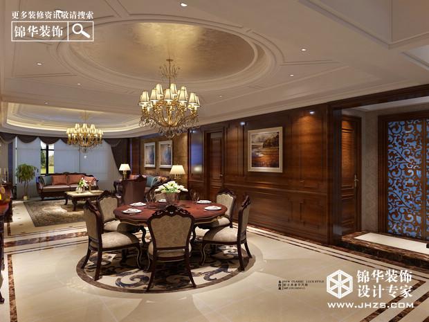 苏宁滨江壹号d户型238平米-装修设计方案-南京锦华