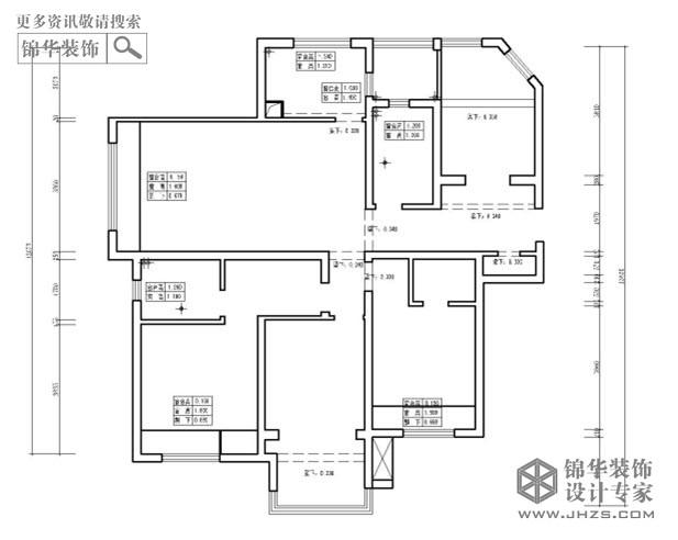 绿地紫峰公馆d户型142平米