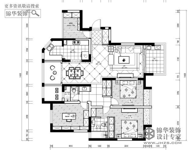 绿地,紫峰公馆,户型图