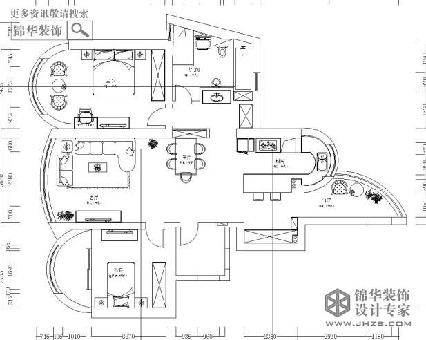 苏宁,滨江壹号,户型图