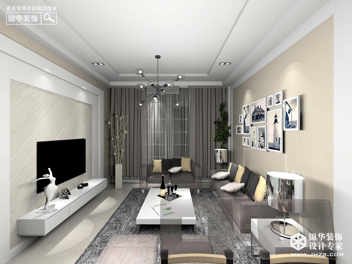 中航金城1号93平米 简约户型解析-装修设计方案-南京